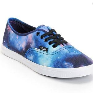 Vans Cosmic Galaxy Authentic Lo Pro Shoes, sz 8.5